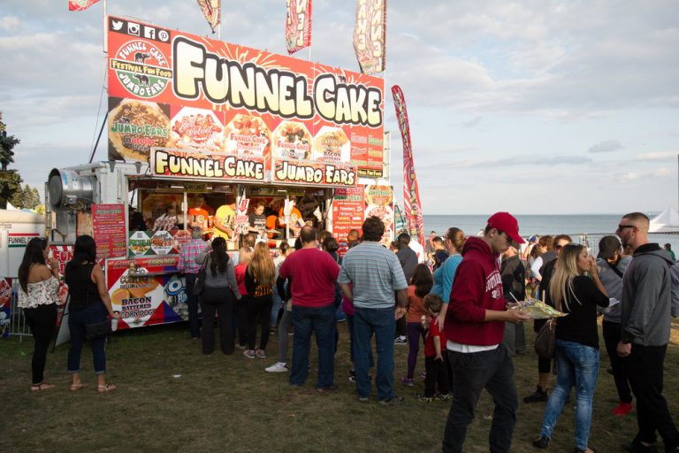 Canada's Largest Ribfest - Food Trailer